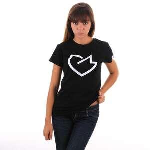 GM Heart T-shirt Damski