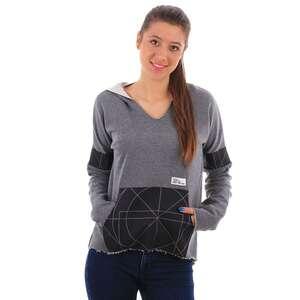 F. El Hoodie Geometry Bluza Damska