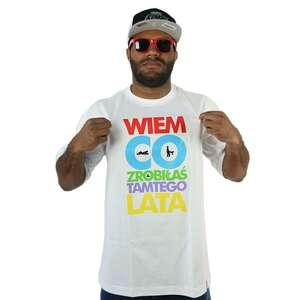Wiem co zrobiłaś T-shirt