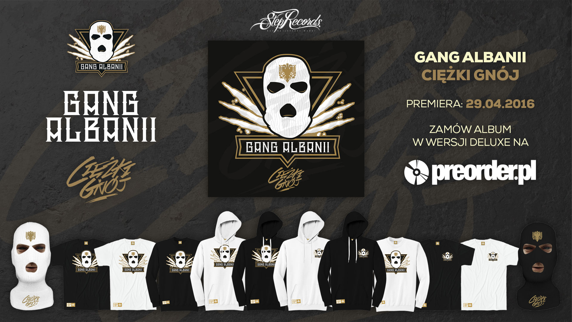 8e71e82c3551 Preorder albumu Gang Albanii - Ciężki Gnój!