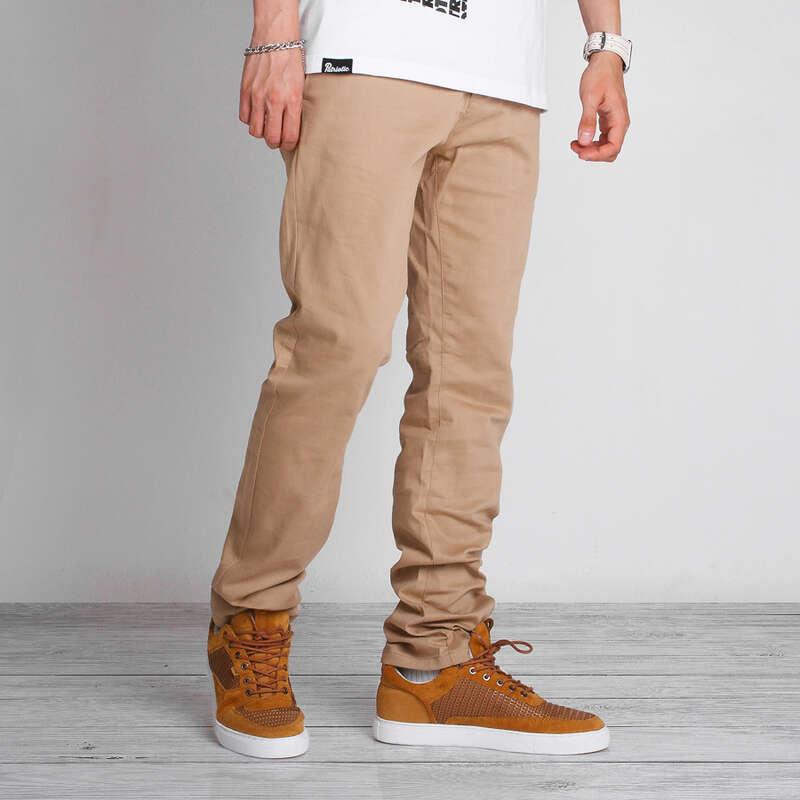 spodnie chino męskie