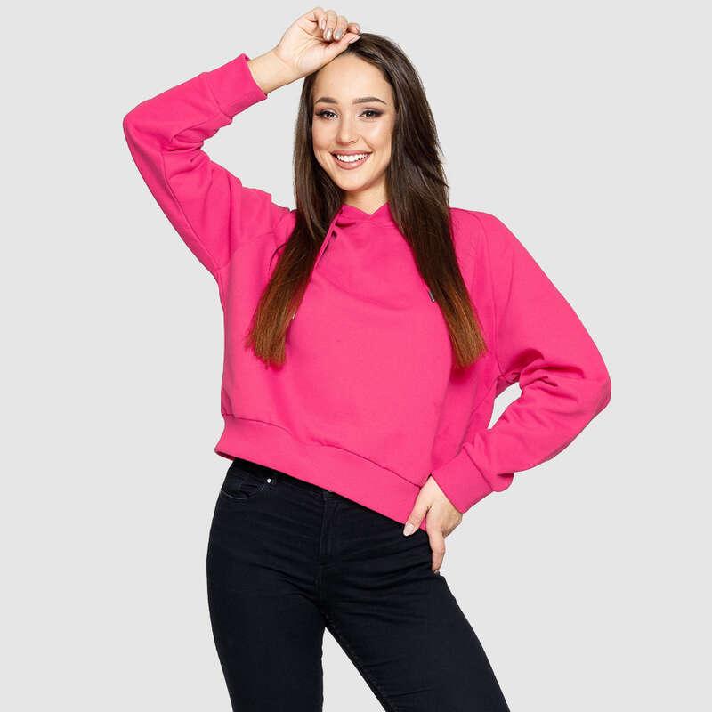 Fila Floresha Bluza Damska z Kapturem kolor różowy do