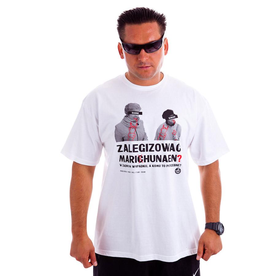 Dziedzic Pruski koszulka męska model Marihunaen T shirt