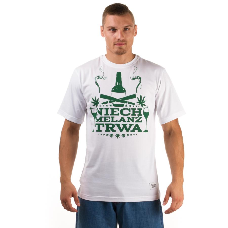 innowacyjny design Pierwsze spojrzenie Nowe Produkty Niech Melanż Trwa T-shirt