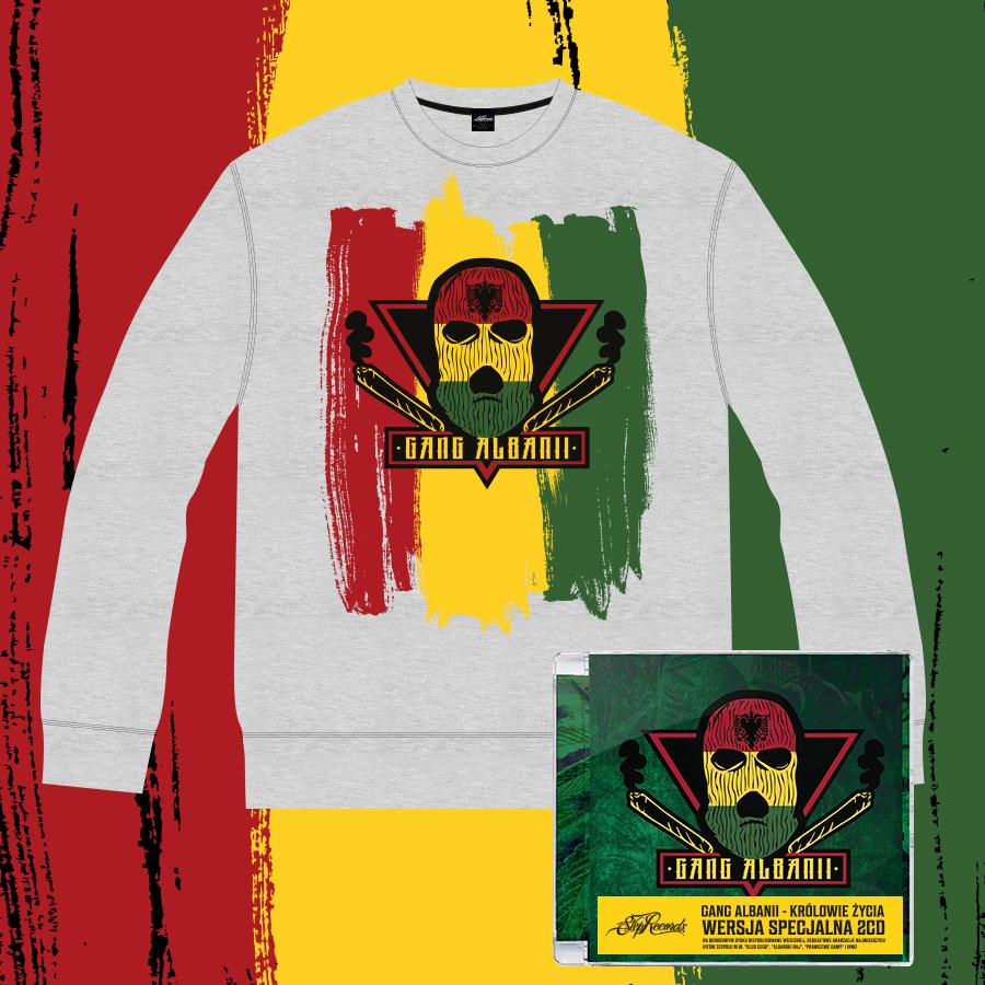 c189d421d9b6 Gang Albanii - Królowie Życia Edycja Specjalna Bluza Klasyczna kolor ...