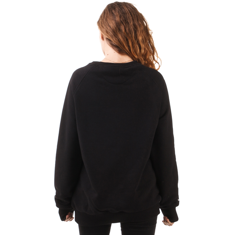 Biuro Ochrony Rapu Cat Bluza Klasyczna Damska kolor czarny