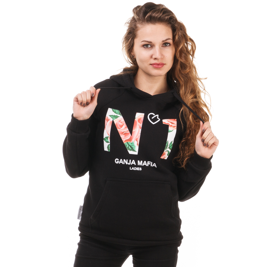 100% autentyczności nowy produkt nowy design Rose N1 Bluza Damska z Kapturem