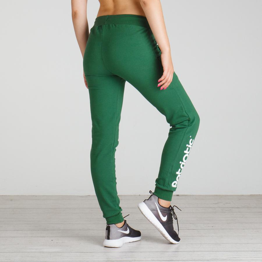 3eab810b4225e6 Patriotic - Pat Girl Spodnie Dresowe Damskie kolor zielony do ...